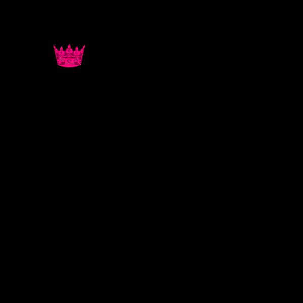 Pink Crown PNG Clip art