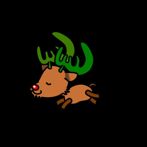 Christmas Reindeer 1 PNG Clip art