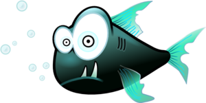 Confused Piranha PNG icons