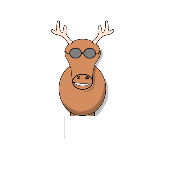 Reindeer Still No Idea PNG Clip art
