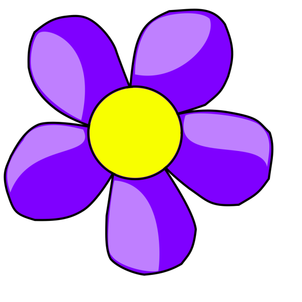 Purple Flower PNG Clip art
