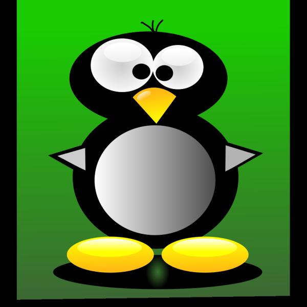 Crazy Cartoon Penguin PNG Clip art