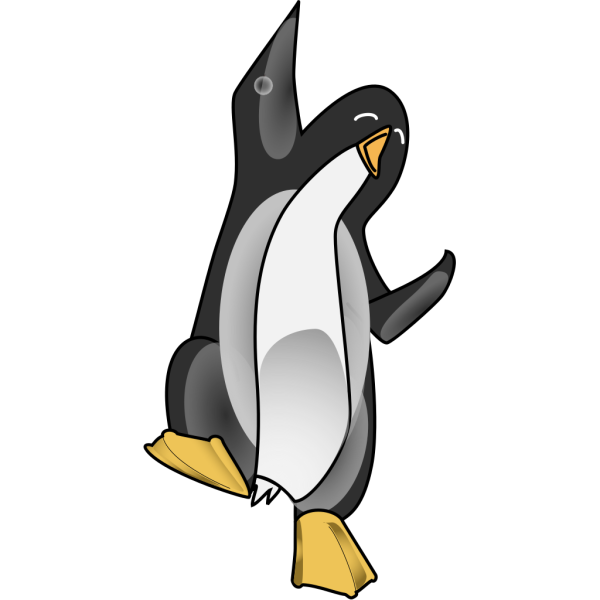 Celebrating Penguin PNG images
