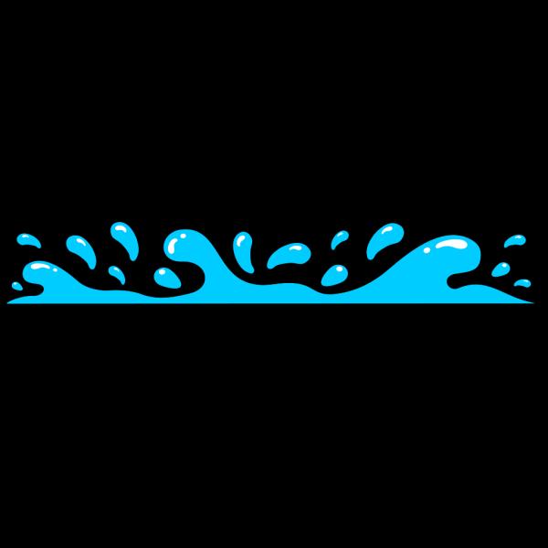 Flat Water Splash PNG Clip art