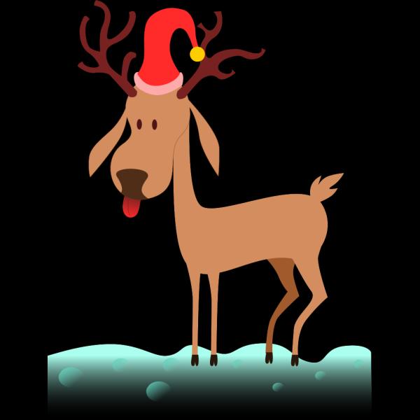 Cartoon Reindeer PNG Clip art