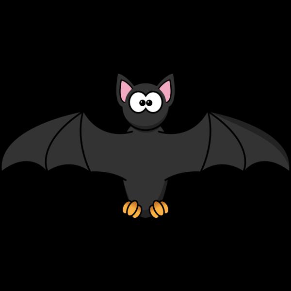 Simple Cartoon Bat PNG Clip art