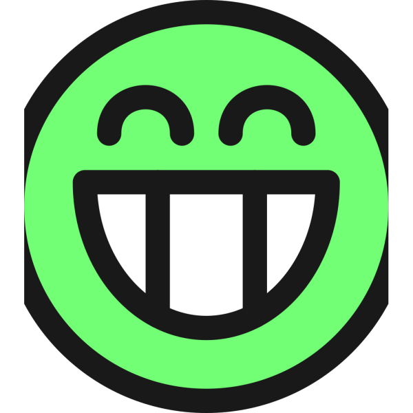 Flat Grin Smiley Emotion Icon Emoticon PNG images