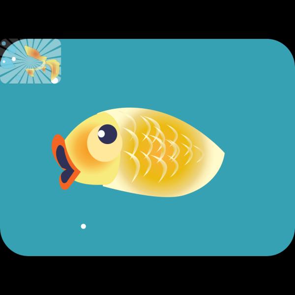 Golf Fish  PNG Clip art