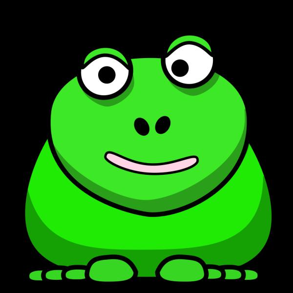 Happy Frog PNG Clip art