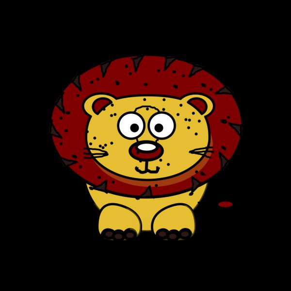 Baby Lion PNG Clip art