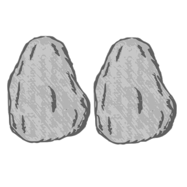 Double Rock PNG Clip art