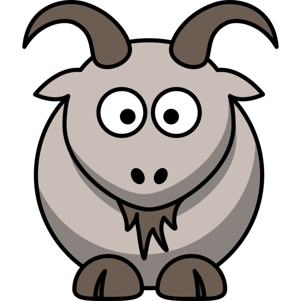 Cartoon Goat PNG image