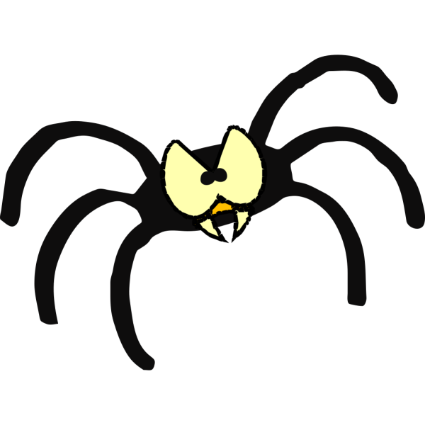 Mean Spider PNG Clip art