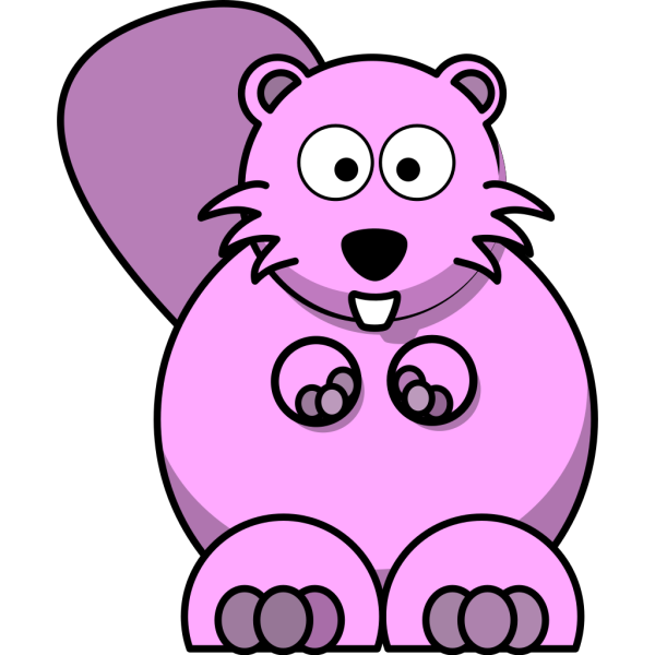 Cartoon Beaver PNG images