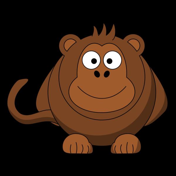 Huge Cartoon Monkey PNG Clip art