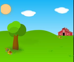 Farm Background PNG Clip art