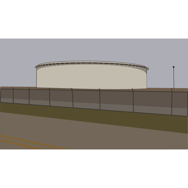 Oil Tank From The Roadside PNG Clip art