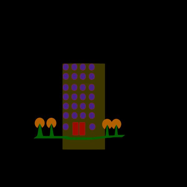 Housing Flat PNG Clip art