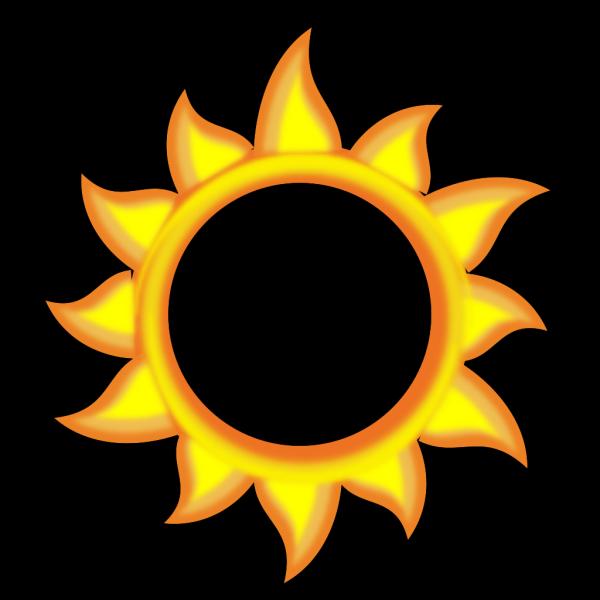 A Sun Cartoon  PNG Clip art