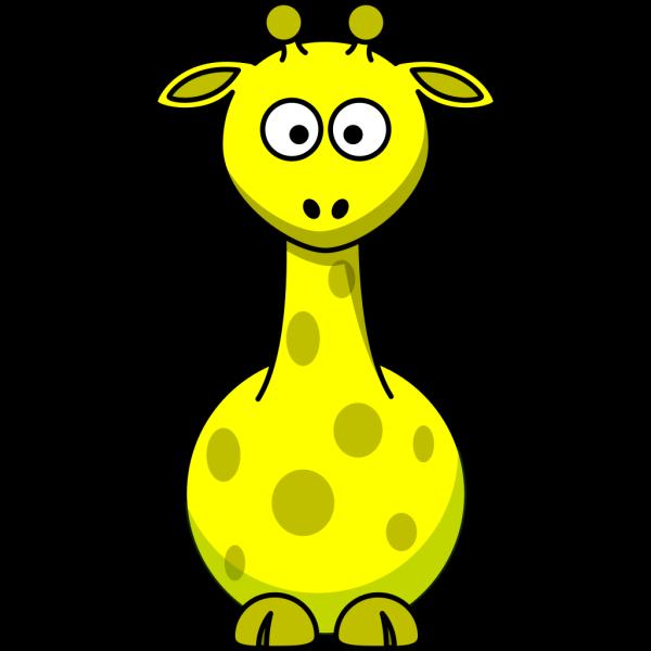 Yellow Giraffe PNG Clip art