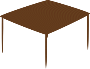 Small Square Table PNG Clip art