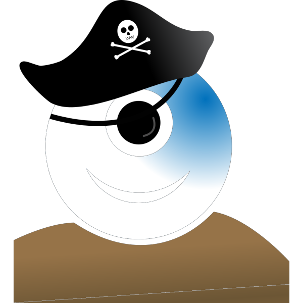 Alien Pirate PNG Clip art