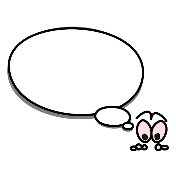 Speech Bubble With Person PNG Clip art