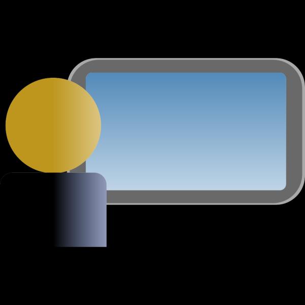 Female Computer User PNG Clip art