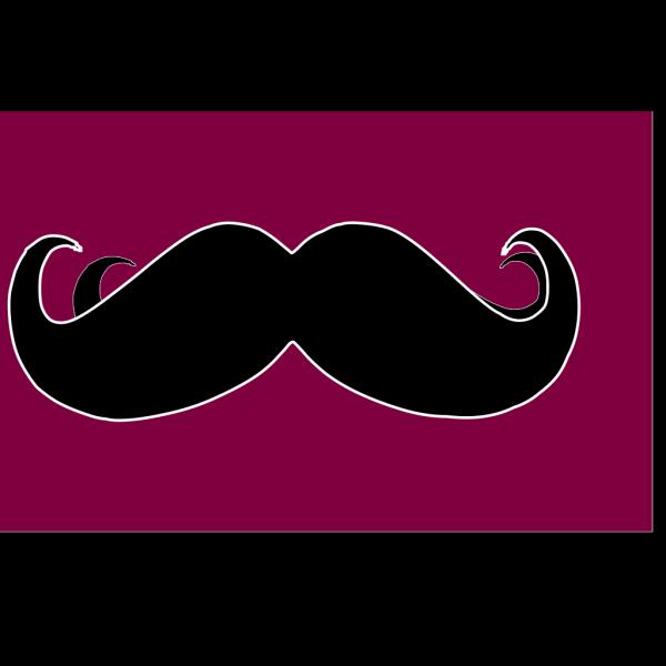 Mustache Looty PNG Clip art
