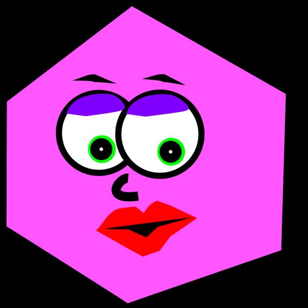 Mrs Hexagon PNG Clip art