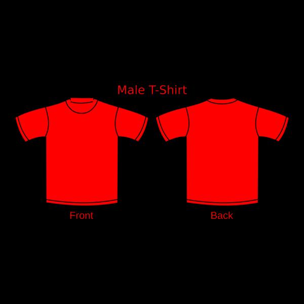 Cartoon Man In Red Shirt PNG Clip art