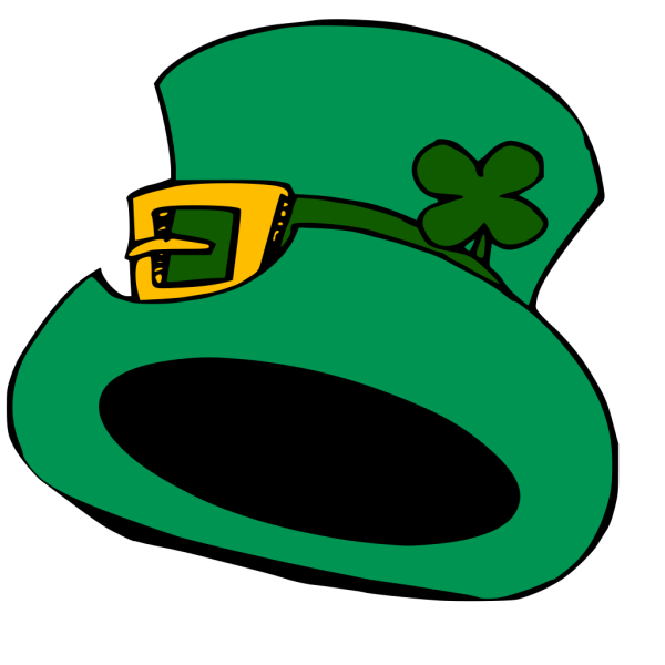 Green Leprechaun Hat PNG Clip art