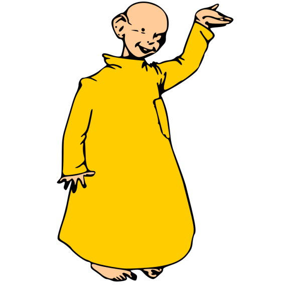Kid Dressed In Yellow PNG Clip art