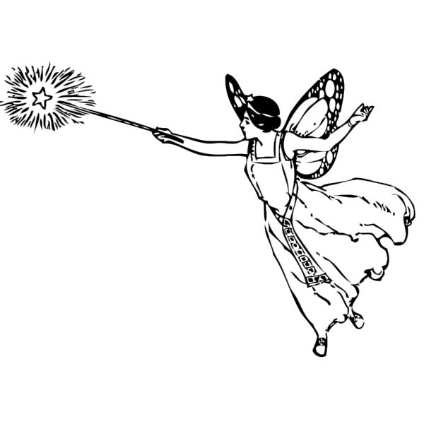 Fairy With Wand PNG images