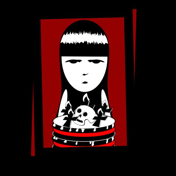 Strange Birthday Card PNG Clip art