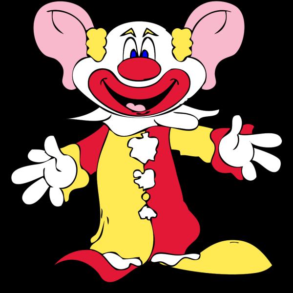Big Earred Clown PNG Clip art