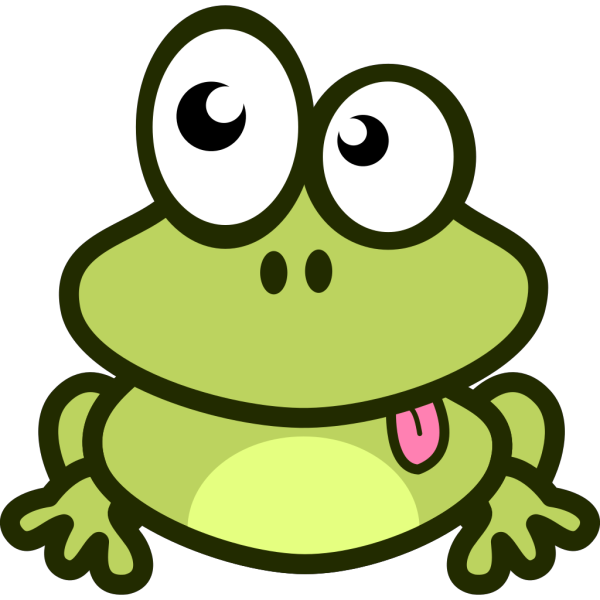 Frog Cartoon PNG Clip art