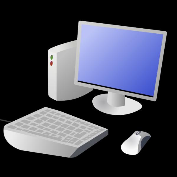 Cartoon Computer And Desktop PNG Clip art