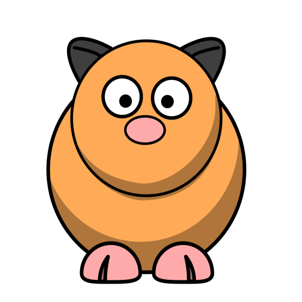 Cartoon Hamster PNG Clip art