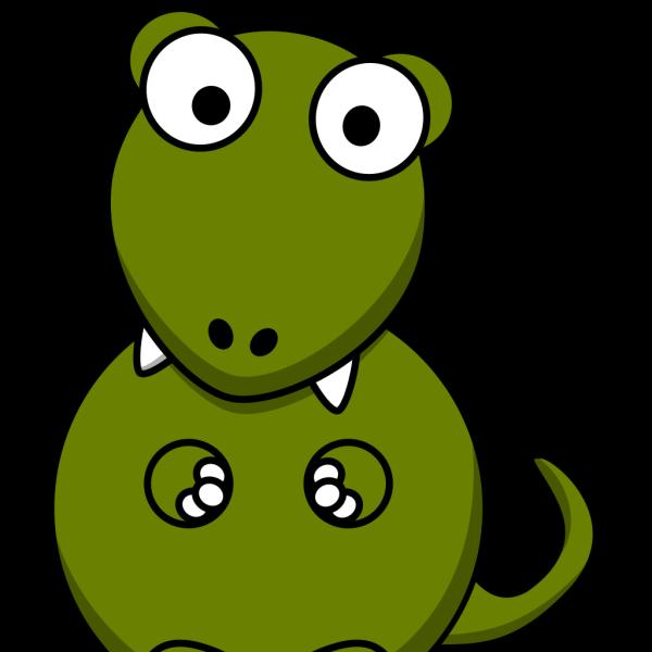 Big Eye Dinosaur PNG Clip art
