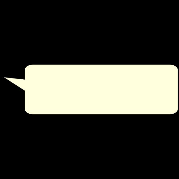 Speech Bubble Upwards-1 PNG Clip art