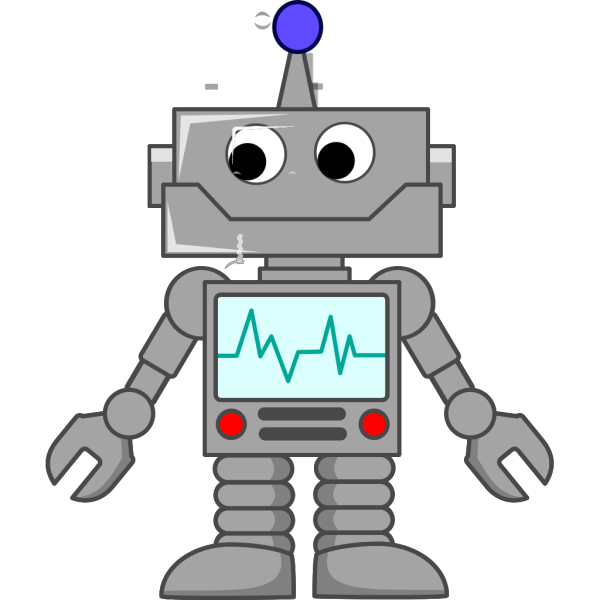 Robot Cartoon  PNG Clip art