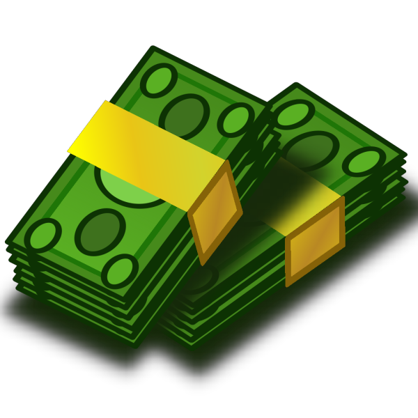 Stacks Of Money PNG Clip art
