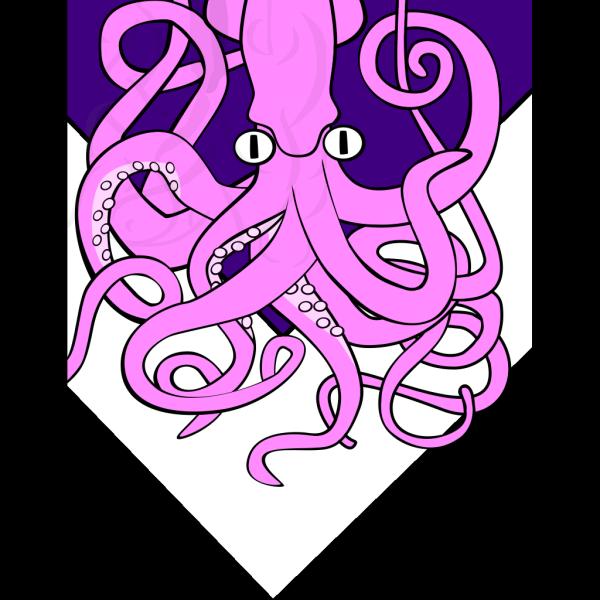 Giant Squid V2 PNG Clip art