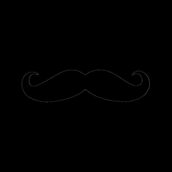 Moustache Black Brand PNG Clip art