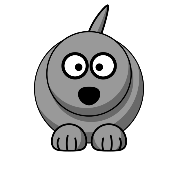 Wolf No Ears PNG Clip art