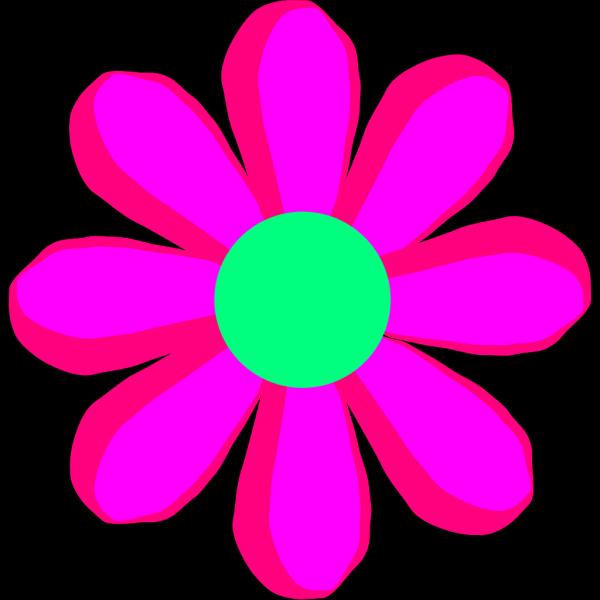 Flower Cartoon Pink PNG Clip art