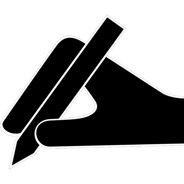 Hand And Pen PNG images