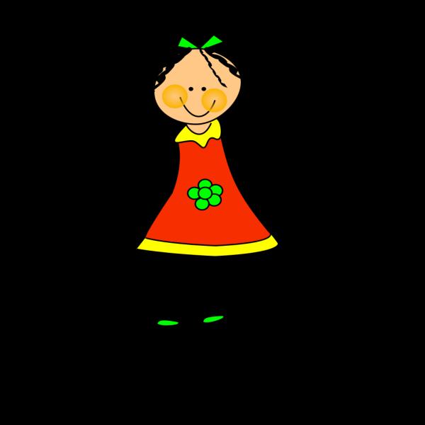 Little Cartoon Doll PNG Clip art