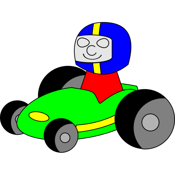 Cartoon Gokart PNG Clip art